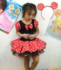 Halloween Minnie Mouse Girl Pary Costume Ballet Tutu Dress 2-10Y Kids Christmas