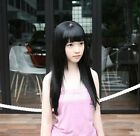 "★FUNNY★20"" 9PCS CLIP STRAIGHT HAIR WIG/WIGS FASHION 7COLOR"