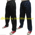 Mens Bodybuilders Gym Baggy Silky Trackies Elasticated Jogging Bottoms Trousers