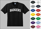 Badgers College Letters T-shirt