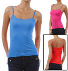 CAMI Camisole with Built in Shelf BRA Adjustable Spaghetti Strap Layer Tank Top
