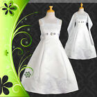 Wedding Flower Girls Bridesmaid Party Communion Dress Up Size 2-14 FG018S