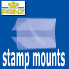 Prinz Stamp Mount Strips - Gard back opening clear backed - per 10 - for blocks
