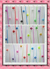 origami lucky star folding straw (90pc120pc70pc) transparent straws glow in dark