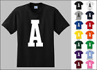 Capital Letter A Alphabet T-Shirt