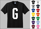 Capital Letter G Alphabet T-Shirt
