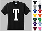 Capital Letter T Alphabet T-Shirt