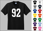 Number 92 Ninety Two T-Shirt