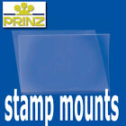 Prinz Stamp Mounts Strips Cut to Size Standard top opening clear backed - per 25