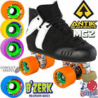 ANTIK MG2 Roller Derby /  Speed Skates Quads B'ZERK Wheels 5, 6, 7 UK