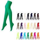 [Green Color] Opaque Womens Pantyhose Stockings Tights Leggings Colour