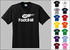 Football Sports Flying Flame Ball T-shirt