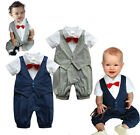 Baby Boy Twin Wedding Formal Occasion Christening Tuxedo Suit Outfit 100% Cotton
