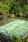 Malé - Cream & Green Indoor & Outdoor Rug - Mats - Many Sizes, Recycle Green