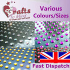 Round Self Adhesive Diamante Rhinestone Gems for Greeting Cards, Wedding Craft