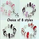 Girls Jewellery Charm Bead Bracelets BIRTHDAY Gifts Choice of 8 Styles FREEPOST