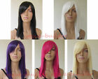 16 inch Straight Heat resistant Cosplay Costume Halloween wig hair ALL COLOR