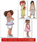 SEWING PATTERN! MAKES SUMMER DRESS~TOP~SHORTS~PANTS! SIZES TODDLER 1 TO CHILD 6