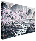 Large Abstract Japanese Painting Cherry Blossom Canvas Wall Art Pictures