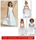 SEWING PATTERN! MAKES FLOWER GIRL DRESS~BOLERO! TODDLER~CHILD SIZES 2 TO 8!