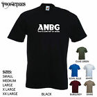 'ANBG - That's bang out of order' Funny men's T-shirt. S-XXL