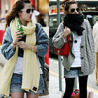 Girls Lady Knit Knitting Pashmina Winter Neck Warmer Long Scarf Shawl