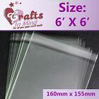 Clear Cello Bags for Greeting Cards | Plastic Cellophane Peel & Seal  *8 Sizes*