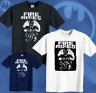 Batman T-shirt New The Dark Knight Rises Movie Bane Fire Rise Tee Sizes S-6XL