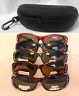 LADIES/WOMEN SUNGLASSES POLARIZED FIT OVER 100% UV WEAR OVER RX PRESCRIPTION