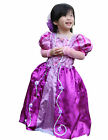 HALLOWEEN DELUXE PURPLE LIGHT PINK PRINCESS BIRTHDAY PARTY XMAS COSTUME 2-8Y