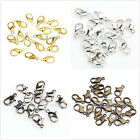 20pcs Plated Lobster Parrot Claw Clasps 12mm 5color to pick