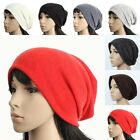 D1075 OVERSIZE UNISEX KNIT BEANIE CAP MEN WOMEN WINTER SLOUCH BAGGY HAT