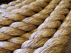 QUALITY MANILA DECKING/GARDEN/FENDERS/TUG O'WAR/BARRIER ROPE FROM 6mm to 28mm