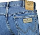 NEW WRANGLER TEXAS STONEWASH REGULAR FIT STRAIGHT LEG JEANS  ZIP FLY  **30 TO 48