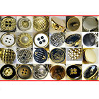 10 x FASHION SEWING BUTTONS - 30 Styles - Premium Lightweight Plastic Buttons