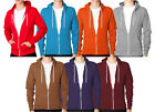 NEW MENS WOMENS AMERICAN UNBRANDED FLEECE FULL ZIP PLAIN HOODIES JACKET COAT TOP