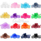 "100YD 3/8"" 10mm Organza Sheer Ribbon Craft Bow Party Decor Various Colours"