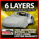 Toyota Sequoia 6 layer Car Cover Fitted Outdoor Water Proof Rain Snow Sun Dust