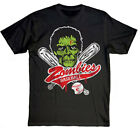 Goodie Two Sleeves Zombies Baseball Mens T-Shirt Funny, Horror,Zombie