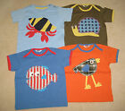 Mini Boden Baby T Shirt Top 3 6 12 18 24 months 2 3 4 years bird snail fish crab