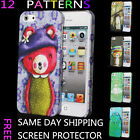 STYLISH SMOOTH NEW PAINTING HARD CASE COVER FITS APPLE IPHONE 5 5G 5S