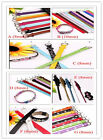 DIY Accessories PU Leather Wristband Bracelet Fit Slider Letter/Charms 7 Option