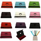 360° Rotating Magnetic Leather Case Smart Cover For iPad 2/3 Display