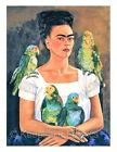 Frida Kahlo Parrots Quilt Block Multi Sizes FrEE ShiPPinG WoRld WiDE