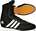 Adidas Boxing Boot Box Hog Boots Black  Sizes 3.5, 4,4.5, 5.5 Junior Boxing Shoe