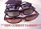 SUNGLASSES 2 FIT OVER PRESCRIP GLASSES  POLARIZED 4 NEW RECTANGLE LENSES STYLE