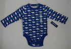 OLD NAVY BOYS BLUE BEAR AND TREE ONE PIECE NWT