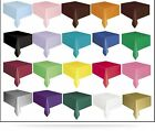 PLASTIC TABLECOVERS TABLE COVER COVERS CLOTH CLOTHS 54* X 108*