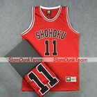 SLAM DUNK Cosplay Costume Shohoku School Basketball #11 Rukawa Replica Jersey R