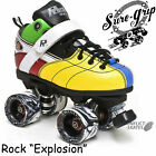 SURE GRIP Rock Explosion Roller Derby Skates Size 5UK to 8UK Suregrip Quad Speed